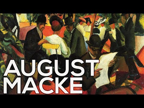 August Macke: A collection of 105 works (HD)