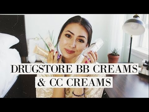 Drugstore BB Creams & CC Creams | Review & Comparisons!