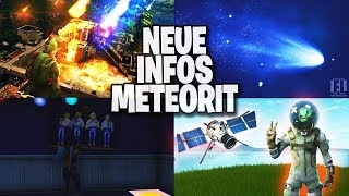New information & evidence about the meteorite ?! - Battle Pass Season 4 Leak ?! | Fortnite