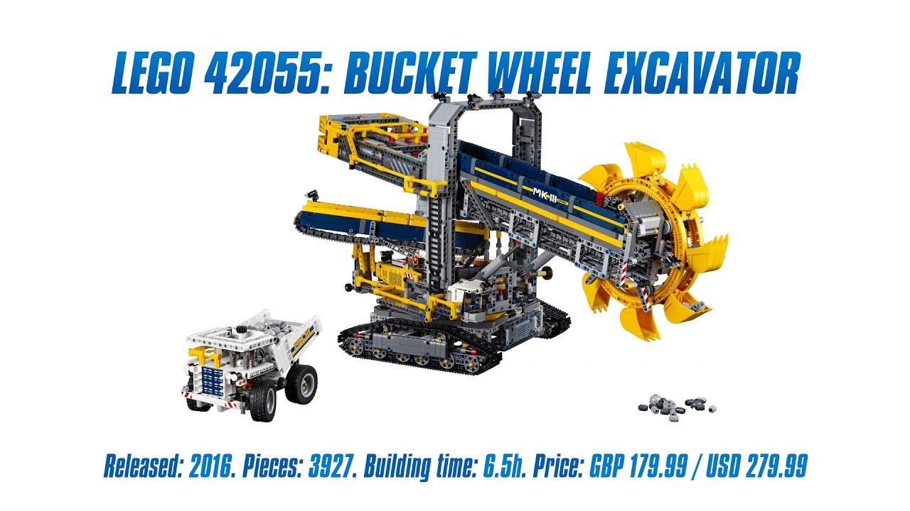 39 lego technic 42055 bucket wheel excavator 39 unboxing. Black Bedroom Furniture Sets. Home Design Ideas