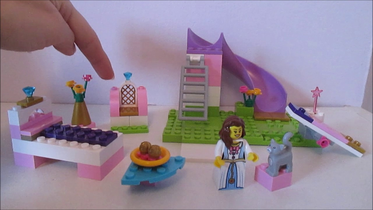 lego juniors 10668 princess play castle youtube