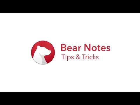 Bear Tips and Tricks