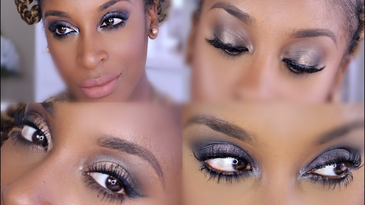 Urban Decay Naked Smoky Palette 4 Looks Review Jackie Aina Eyeshadow Youtube
