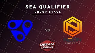 Reality Rift vs Neon Esports Game 2 - DreamLeague S13 SEA Qualifiers: Group Stage