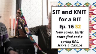 Sit and Knit for a Bit with ARNE & CARLOS. Ep 16, Season 2