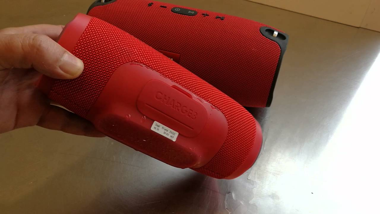 JBL Charge 3 & Xtreme in red