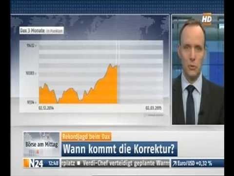 Andreas Rapp, Leiter Private Banking bei ELLWANGER & GEIGER, im Interview bei N24