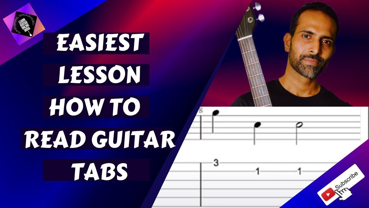Music Reading For Beginner Guitarists