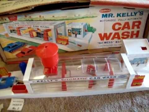 1964 Mr Kelly S Car Wash By Remco Toys Vintage 1960s Toy Youtube