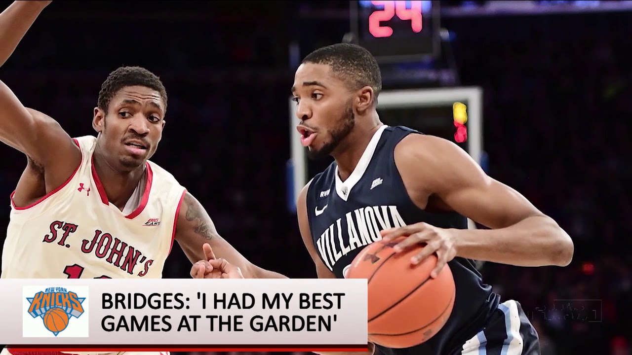 NBA Draft: Mikal Bridges interview
