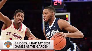 NBA Draft: Mikal Bridges interview