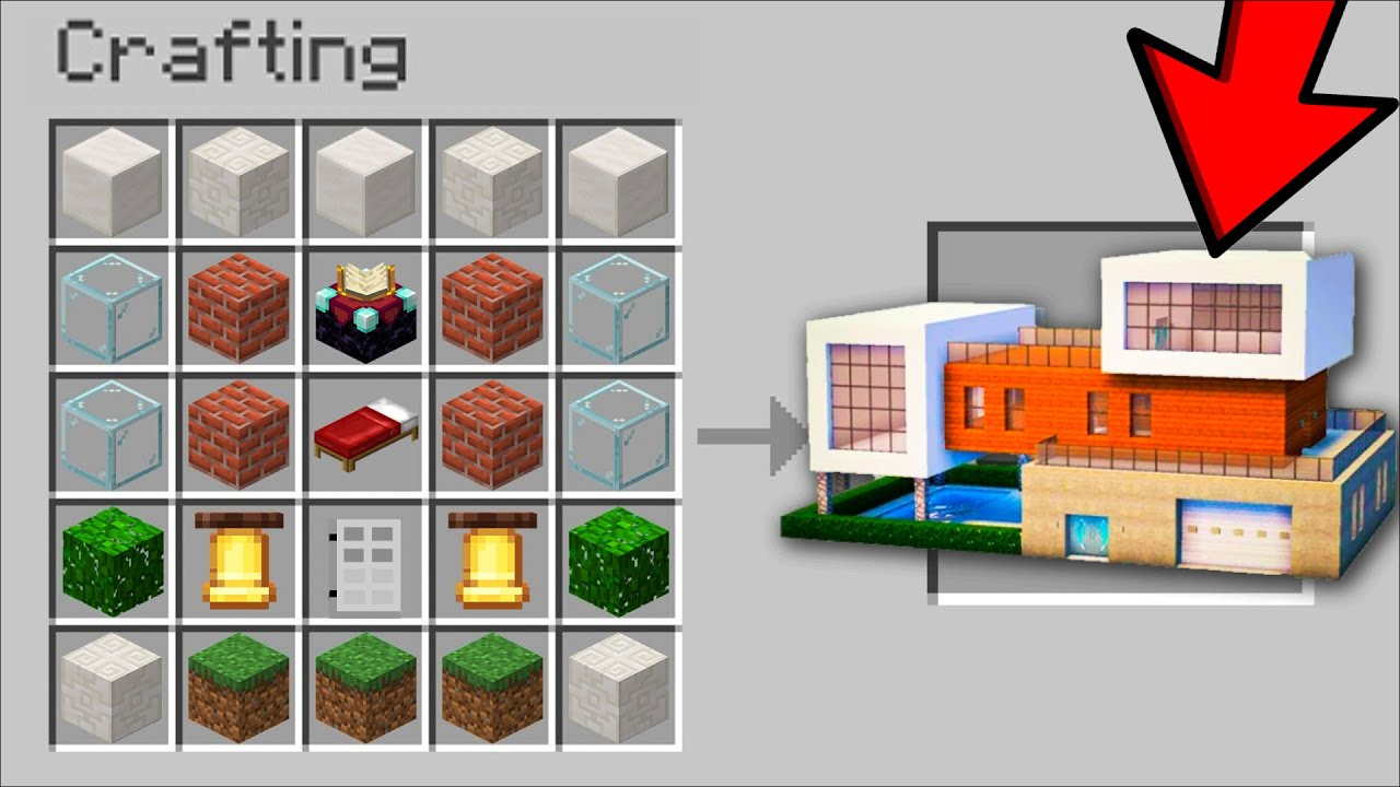 Minecraft INSTANT HOUSE SPAWNERS MOD / INSTANTLY BUILD HOUSE FOR SURVIVAL  TUTORIAL !! Minecraft Mods