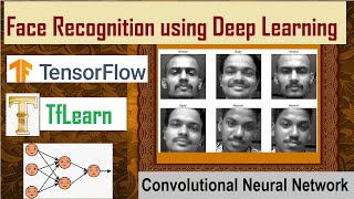 Face Recognition using Deep Learning | Convolutional-Neural-Network | TensorFlow | TfLearn