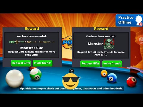 Free monster cue and avatar link in description