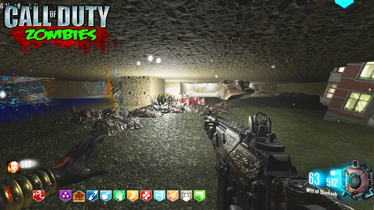 Underwater City Zombies Scary Map Black Ops 3 Custom Zombies