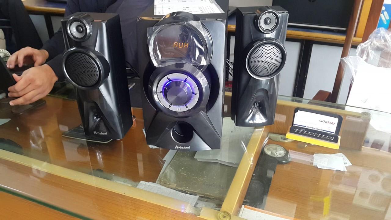 Audionic Mega 100 2 1 Channel Speakers Autoplay