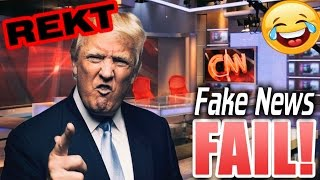 BEST CNN FAKE NEWS Media BIAS Compilation EVER! HIALRIOUS! Feeds cut, Interviews Rigged, CNN 2017