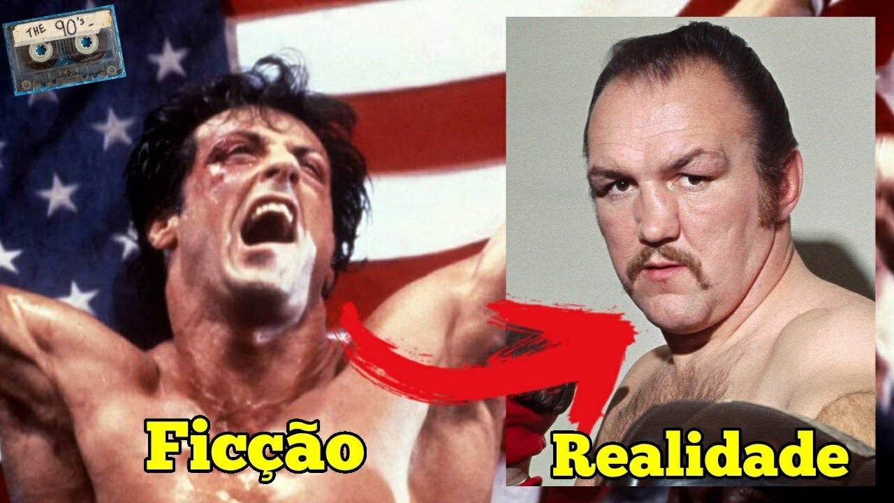 Conheça o Verdadeiro Rocky Balboa: Chuck Wepner! Inspirador