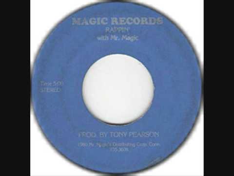 Mr. Magic - Rappin' With Mr. Magic CLASSIC OLD SCHOOL RAP