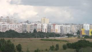 Панорама Белгород 16-8-15(Панорама с юго-востока ул. Есенина - м-н Улитка., 2015-12-26T12:18:46.000Z)