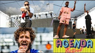 AGENDA FESTIVAL 2017 LIL DICKY, LUDACRIS , TYLER THE CREATOR & A$AP ROCKY