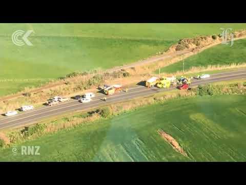 Newborn among six killed in South Taranaki crash