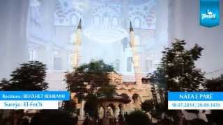 01. Namazi i Natës - Enis Rama & Behxhet Behrami - Ramazan 2014/1435