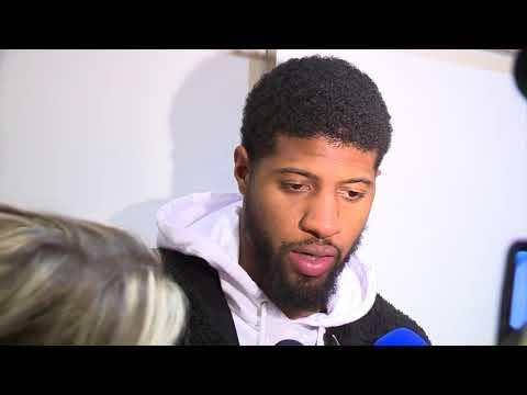 Oklahoma City Thunder Postgame Interview / LA Lakers vs Thunder / Jan 17
