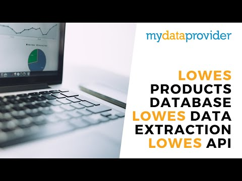lowes products database, lowes data extraction, lowes api