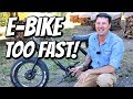 WE GOT ELECTRIC BIKES (They are Too Fast....) Ariel Rider