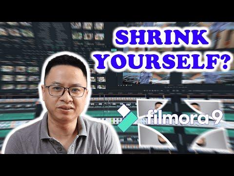 How to SHRINK YOURSELF - Filmora9 Effect Tutorial