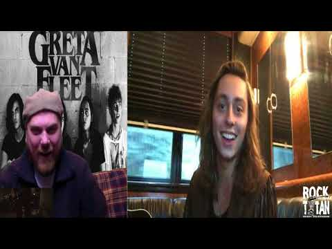 Greta Van Fleet Jake Kiszka Interview with Scotty J
