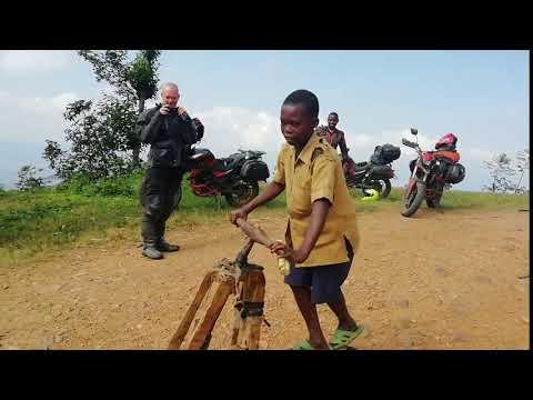Wooden Bike - Meeting Other Bikers
