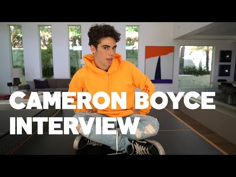 Cameron Boyce Gives His Best Dove Cameron & Sofia Carson Impressions to RAW