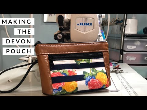 Making The Devon Pouch by S.O.T.A.K. Co | Quick Sew