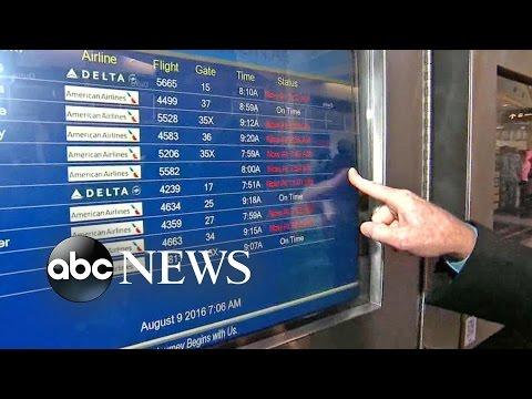 Delta Flight Delays Continue After Computer Outage