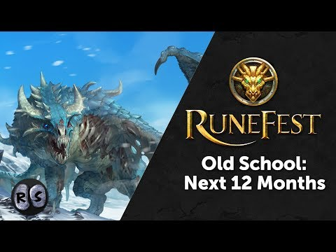 Old School RuneScape - the Next 12 Months - from RuneFest 2017