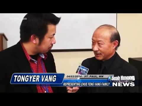 Suab Hmong News: Tong Ger Vang - Hmong 18CC of MN Press Conference on the killing of ChueFeng Vang - 동영상