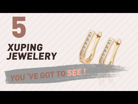 Xuping Jewelery Collection For Women // UK New & Popular 2017