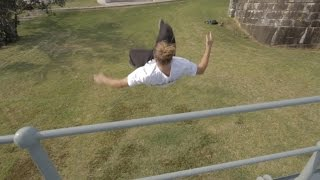 Dominic Di Tommaso - Diving Fronts 2014 - Strong legs 'n' Sloppy rolls