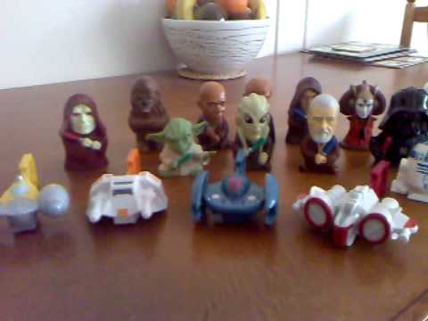 Burger King Star Wars Toys For The Revenge Of The Sith Sw Film Release Youtube