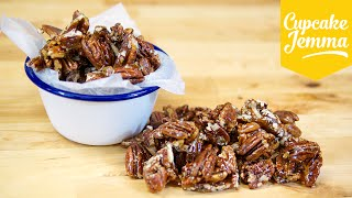 How To Make Really Easy Pecan Brittle | Cupcake Jemma