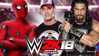 Spiderman vs John Cena vs Roman Reigns