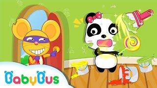 ベビー調色屋 | 子ども・幼児向け知育アプリ| 赤ちゃんが喜ぶアニメ | 動画 | BabyBus thumbnail