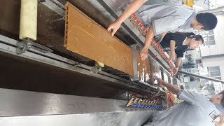 wood plastic machine/WPC decking machine/recycled plastic deck machine/waste wood recycle machine