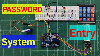 Password Entry System | Keypad Entry | Students Project | Arduino Project #2 | #ArduinoProjects