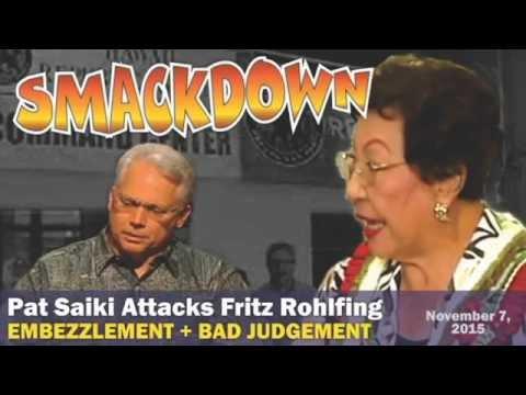 CORRUPTION SMACKDOWN:  Embezzlement Showdown at Hawaii GOP Headquarters