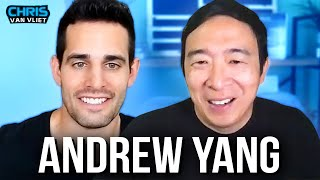 "Andrew Yang on WWE's ""plain F-ing greed"", Vince McMahon, favorite wrestling match, AEW"