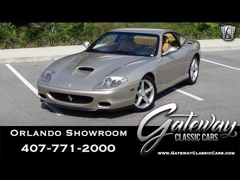 2003 Ferrari 575M Maranello For Sale Stock #1617-ORD
