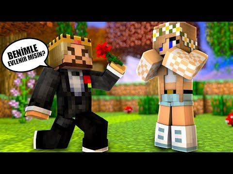 ZENGİN, BARBİ İLE EVLENİYOR! 😱 - Minecraft thumbnail